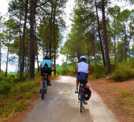 De Alicante a Valencia en bici Xativa