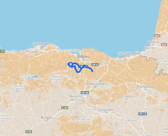 Euskadi en bicicleta