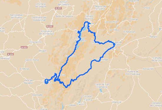 Sierra de Cazorla en bicicleta