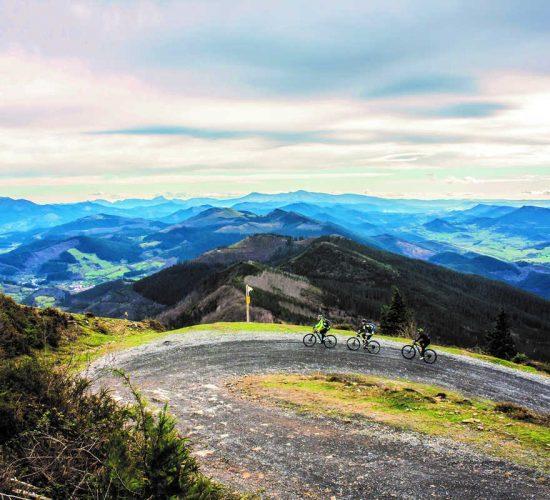 Vizcaya en bicicleta de montaña