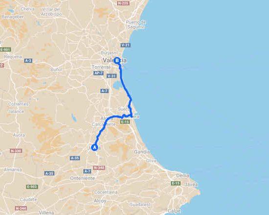 Cicloturismo por Xátiva Valencia Comunidad Valenciana