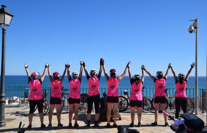 viaje en bicicleta en grupo Valencia