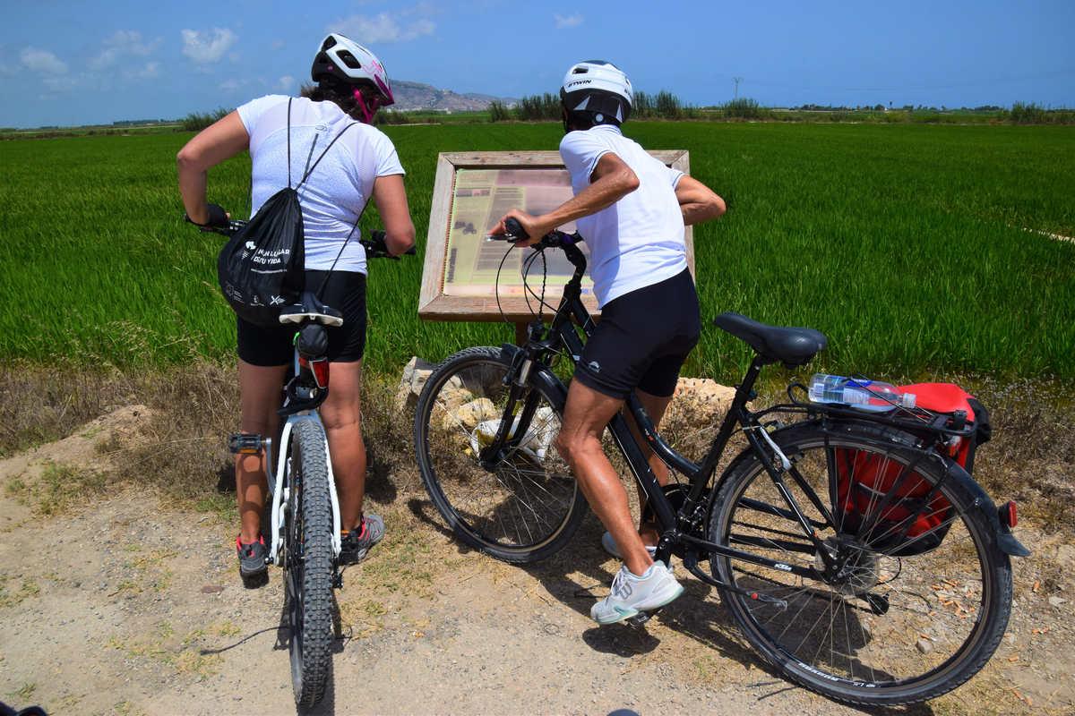 Valencia en bicicleta en grupo kolotrip españa