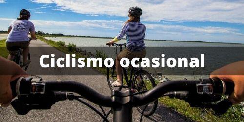 Viajes en bici de ciclismo ocasional