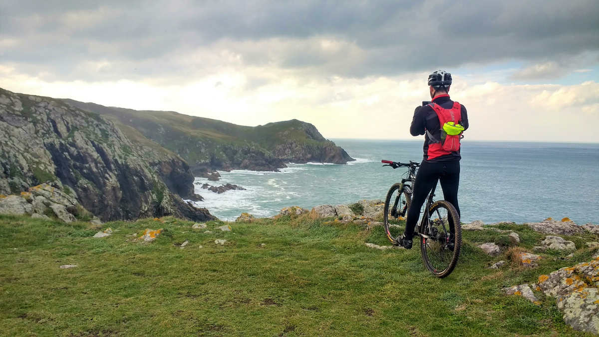 Camiño dos Faros en bici Galicia en bicicleta