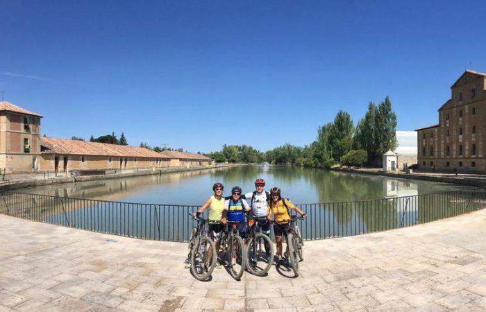 Canal de Castilla en bici kolotrip