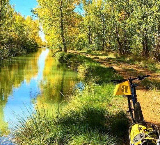 Canal de Castilla en bicicleta cicloturismo organizado