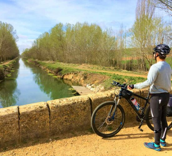 Castilla y León en bicicleta Canal de Castilla