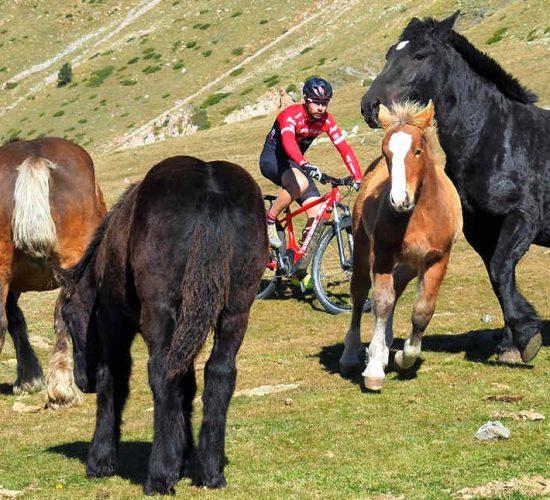 ruta de los contrabandistas en bicicleta de montaña