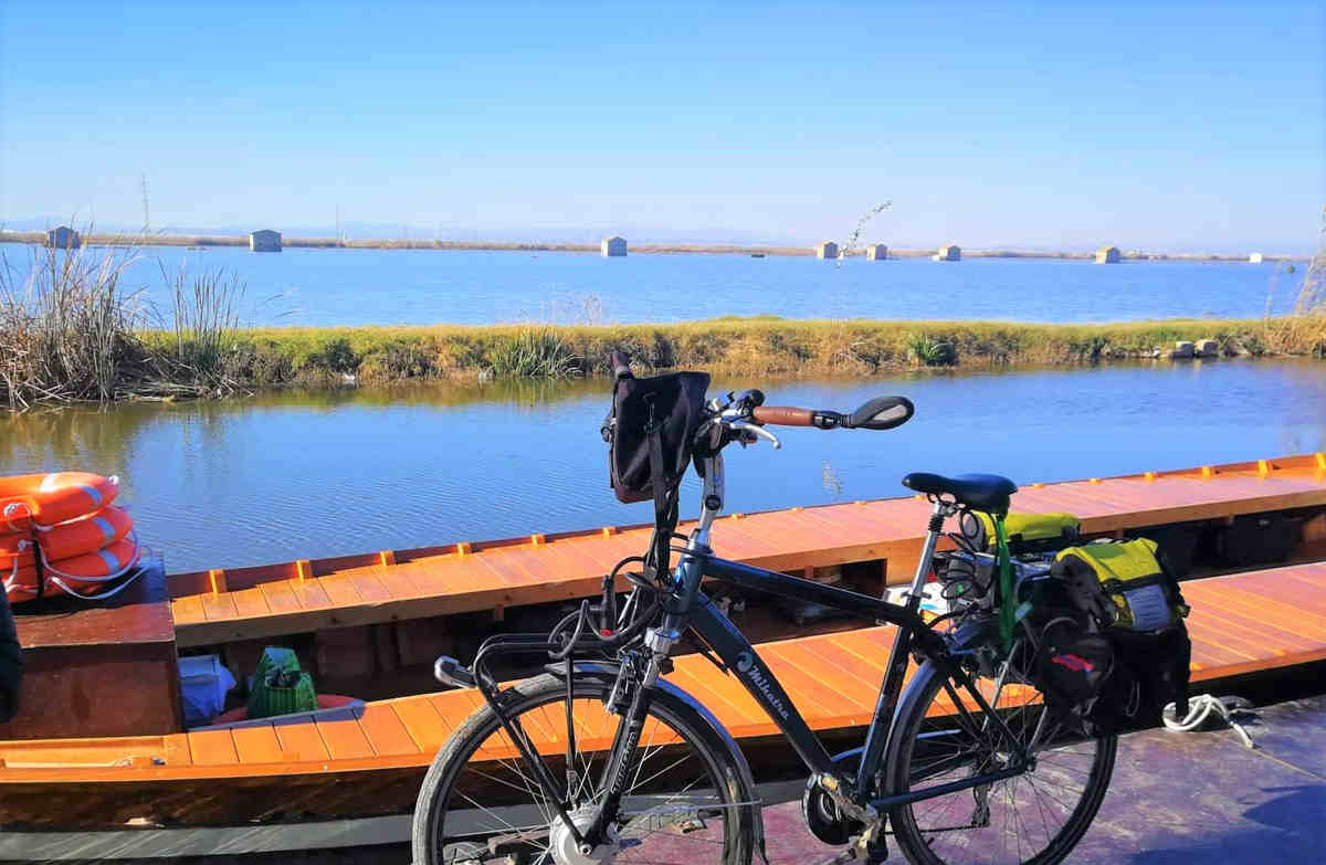vuelta por la albufera en bicicleta