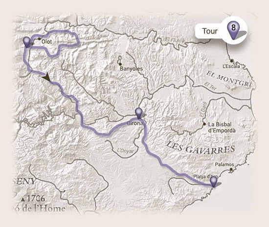 Recorrido Viaje en bicicleta en familia