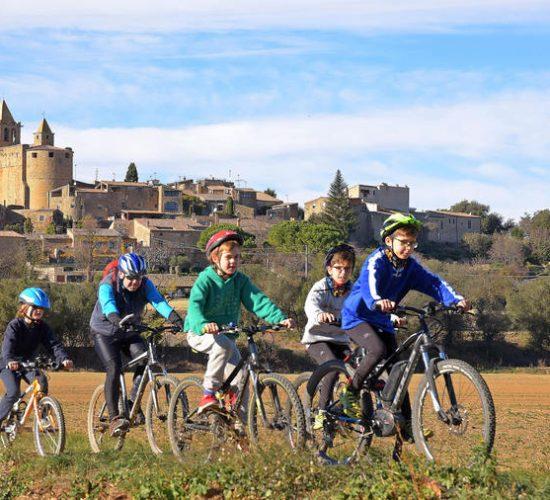 bicicleta en familia pirinexus