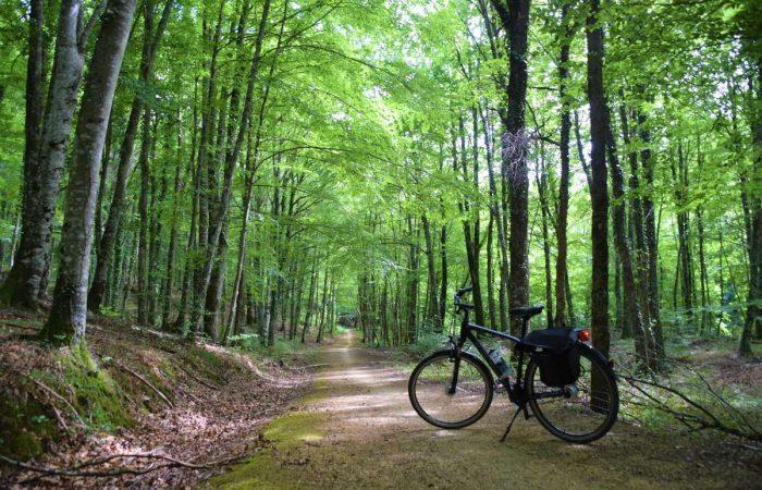 Vía Verde del Vasco Navarro en bicicleta