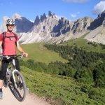 Los Dolomitas en bicicleta de montaña btt mtb