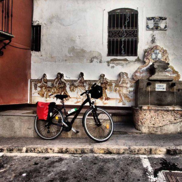 Sierra de Mariola en bicicleta Bocairent y Agres