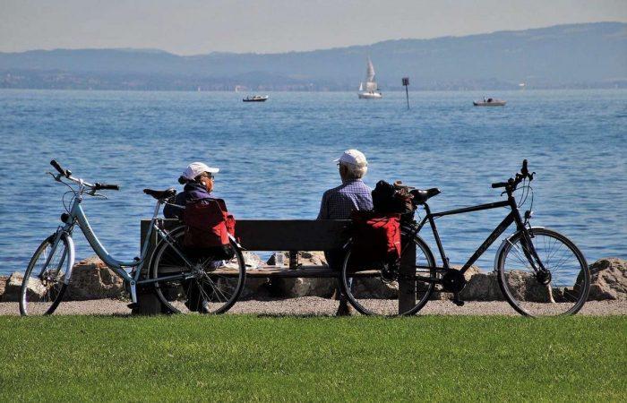 lago constanza en bicicleta