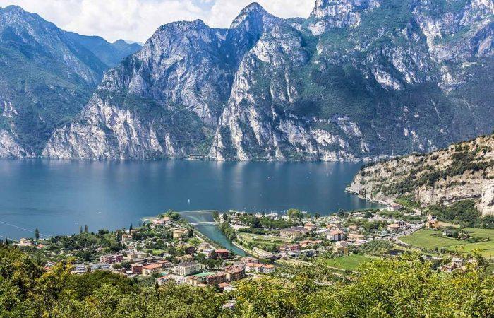lago garda y venecia en bicicleta