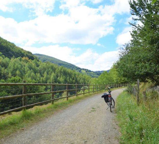 Vía Verde del Plazaola en bici