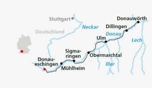 recorrido viaje por el Danibio en bici alemania