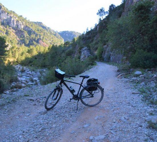via verde lorxa villalonga en bici