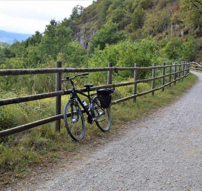 Vías verdes del País Vasco y Navarra viaje en bicicleta por Eurovelo 1