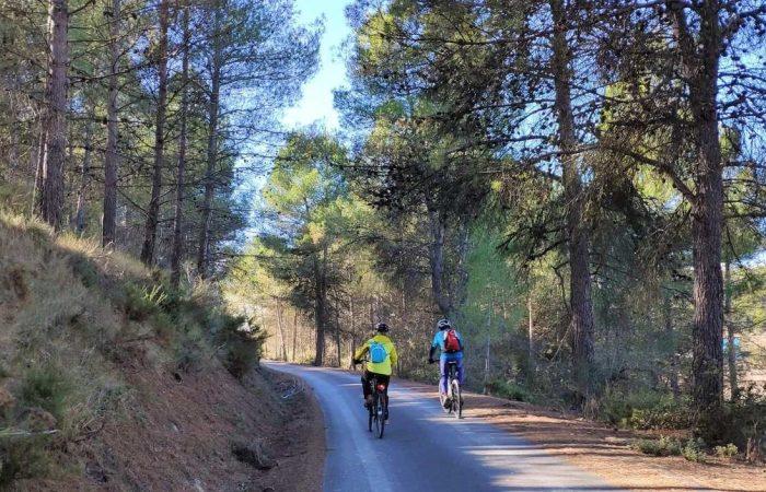 Vía Verde del Xixarra en bicicleta via verde Serpis orxa alcoy gandia villalonga
