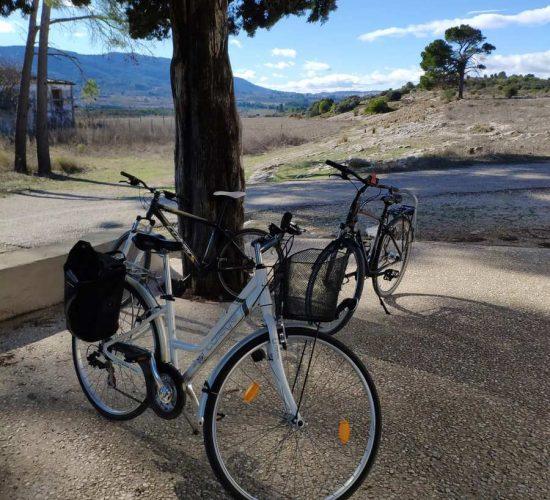 Vía Verde del xixarra en bicicleta vía verde serpis l'orxa