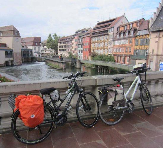 Alsacia en bicicleta kolotrip