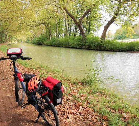 Canal de midi en bicicleta