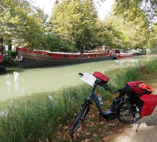 Canal du midi en bici