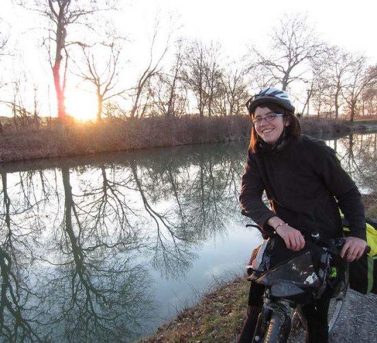Canal du midi en bici Francia cicloturismo