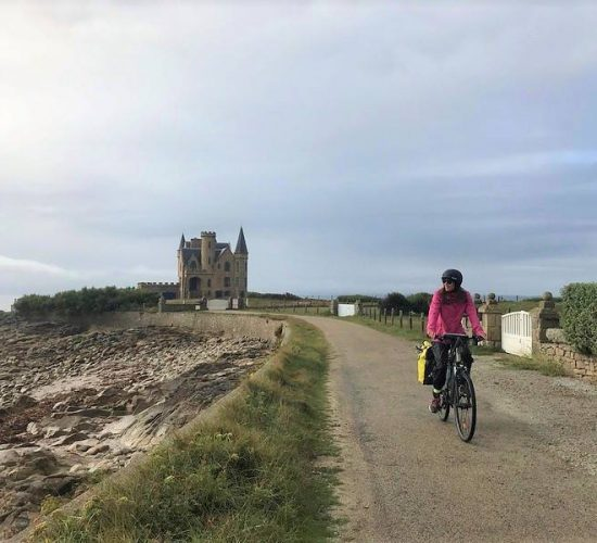 La bretaña en bicicleta