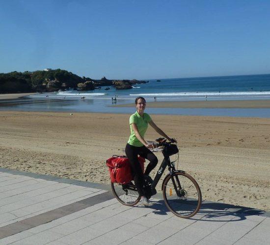 País Vasco francés en bicicleta costa francesa