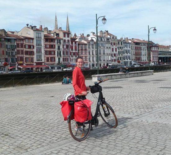 cicloturismo por el País Vasco francés