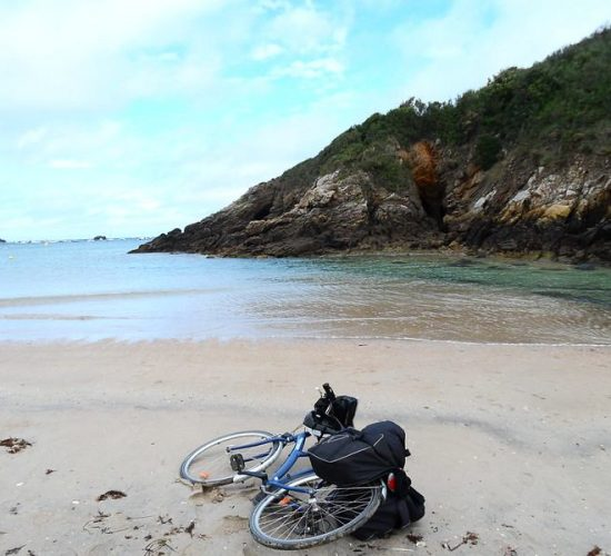 la bretaña en bici