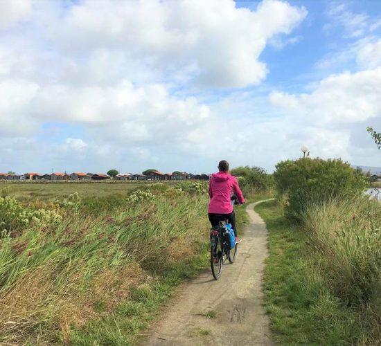 Viaje en bicicleta en familia en Francia de Burdeos a Arcachon